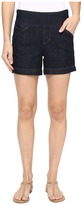 Jag Jeans Ainsley Pull-On 5 Shorts Comfort Denim in Dark Shadow Women's Shorts