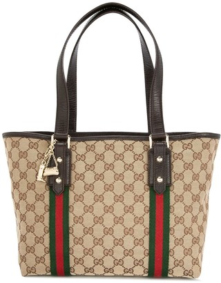 Gucci Pre-Owned Shelly GG supreme tote