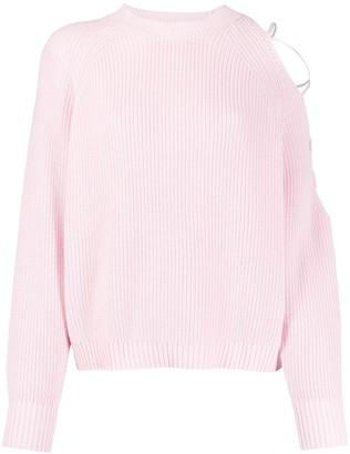 Pinko Waffle Knit Jumper