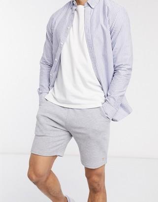 Farah Durrington jersey sweat shorts in grey
