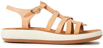 Ancient Greek Sandals Aristi Leather Platform Sandals