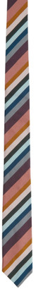 Paul Smith Multicolor Silk Stripe Tie