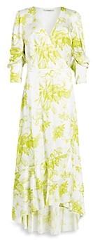 AllSaints Tage Riyaz Maxi Wrap Dress