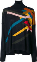 Roberto Collina graphic knit top