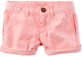 Carter's Rolled Cuff Cotton Shorts, Little Girls (2-6X) & Big Girls (7-16)