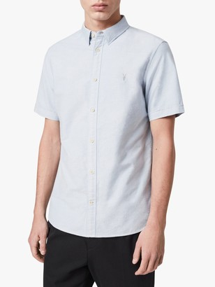 AllSaints Hungtingdon Slim Fit Short Sleeve Shirt