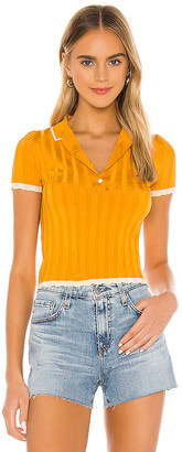 Solid & Striped Rib Polo Shirt