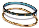 Bing Bang Disco Bangles, Gold/Blue