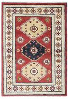 "Ecarpetgallery Royal Kazak Hand-Knotted Wool Persian Rug (4'1"" x 5'10"")"