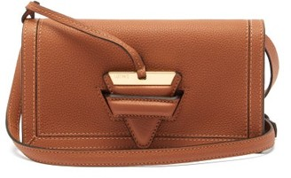 Loewe Barcelona Mini Leather Cross-body Bag - Womens - Tan