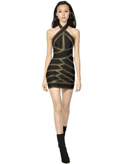 Balmain Punto Milano Viscose Dress