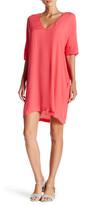 Lush V-Neck Shift Dress