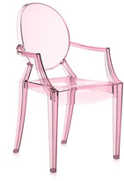 Kartell Loulou Ghost Children's Chair - Pink