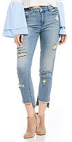 GB Verbiage Embroidered Jean