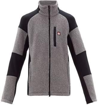 66°North 66north - Tindur Zip-through Faux-shearling Jacket - Mens - Grey