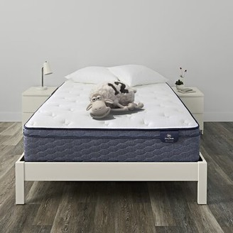 "Serta SleepTrue Alverson 11"" Firm Innerspring Mattress Mattress Size: California King"