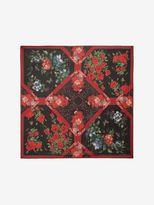 Alexander McQueen Floral Tablecloth Scarf