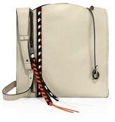 Elena Ghisellini Estia Small Leather Hobo Bag