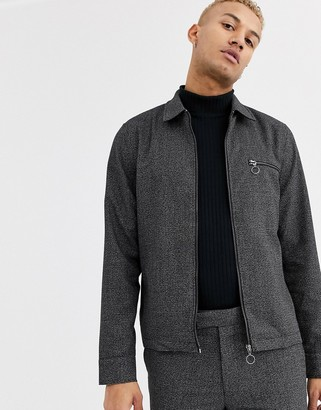 Topman jacket in black