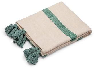 MyHouse Vera Throw Blanket Green
