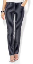 New York & Co. 7th Avenue Pant - Slim-Leg - Signature - Pinstripe - Tall