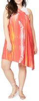 Rachel Rachel Roy Plus Printed Sleeveless Dress