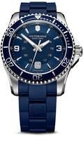 Victorinox Maverick Gs Rubber Strap Watch, 43mm