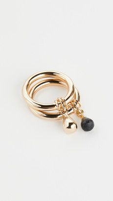 Soko Nene Charm Stacking Rings