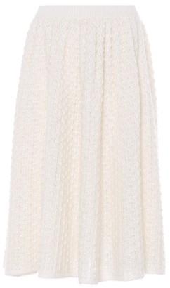 Jil Sander Mohair and silk skirt