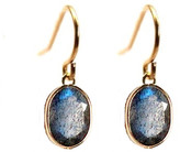 Rachael Ryen - 14k Gold Labradorite Drop Earrings
