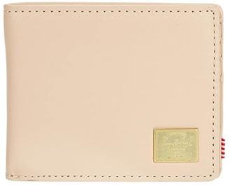 Herschel Hank Leather RFID (Natural) Wallet