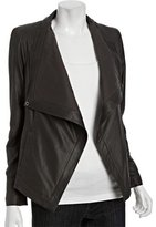 tusk lambskin leather 'Vanessa' draped jacket
