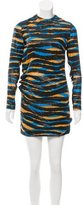 Marc Jacobs Abstract Print Mini Dress