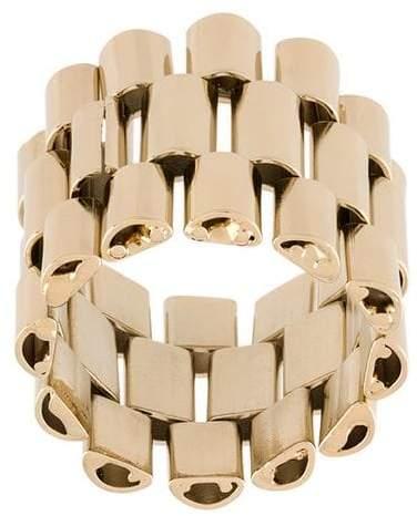 Krizia wide chain ring