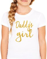 Queen Apparel- Daddy's Girl shirt-soft 100% cotton girls fitted shirt