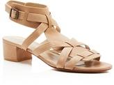 Delman Moxie Block Heel Sandals