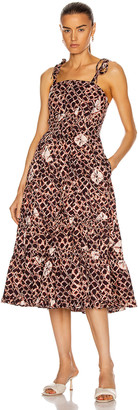 Ulla Johnson Eryn Dress in Henna | FWRD