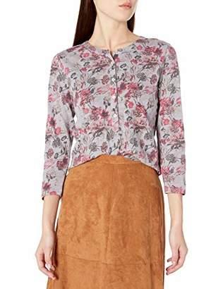 Lucky Brand Women's Long Sleeve Floral Henley Top