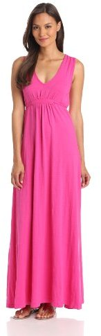 Mod-O-Doc Women's V-Neck Maxi Dress