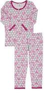 Esme Mermaid-Tail-Print Pajama Set