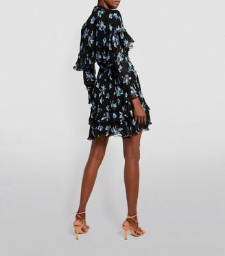 Diane von Furstenberg Martina Floral Mini Dress