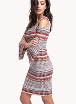 Ella Moss Nomadic Rib Stripe Dress
