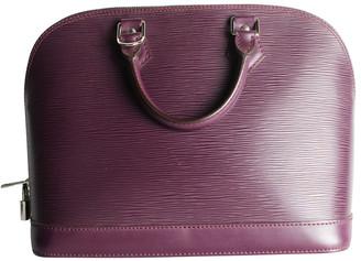 Louis Vuitton Purple Epi Leather Alma PM Bag