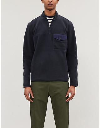 Paul Smith Half-zip fleece jumper