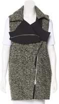 Bouchra Jarrar Wool Asymmetrical Vest