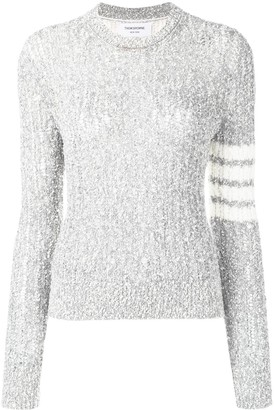Thom Browne 4-Bar Open Stitch Pullover