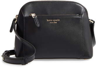 Kate Spade Medium Louise Leather Dome Crossbody Bag