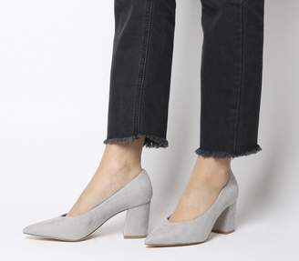 Office Mama Point Court Heels Grey