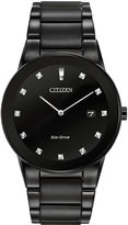 Citizen Eco-Drive Axiom Mens Diamond-Accent Watch AU1065-58G