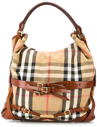 Burberry Pre Owned vintage check tote